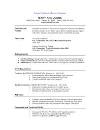 good resume example college student examples for how to write a
