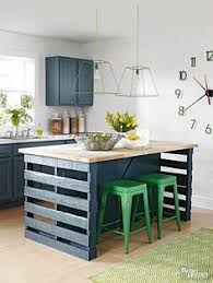how to make a small kitchen island how to build a kitchen island from wood pallets kitchens and storage