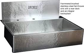 Stainless Steel Farm Sinks For Kitchens Cool Stainless Steel Farmhouse Apron Front Workstation Sinks