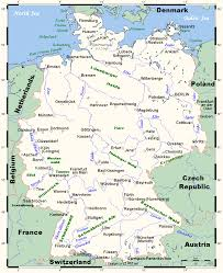 Map Of Germany And Austria by Map Of Germany Overview Map Worldofmaps Net Online Maps And