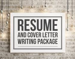 Resume And Job Search Services by Resume Writer Etsy