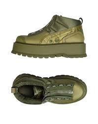 yoox s boots fenty by rihanna sneaker boot zip sneakers fenty
