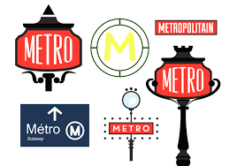 Paris Subway Paris Metro Sign Vectors Download Free Vector Art Stock