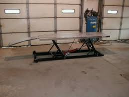 Motorcycle Lift Table by Homemade Motorcycle Lift Table Homemadetools Net