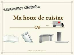 comment choisir une hotte de cuisine
