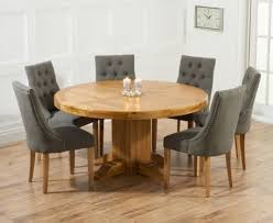 Buy The Torino 150cm Solid Oak Round Pedestal Dining Table With