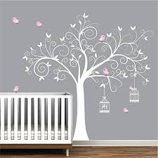 Nursery Decor Wall Stickers Wall Decals Wall Stickers Tree Decal With Birds