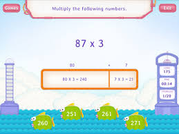 2 digit x 1 digit numbers up to 100 worksheets 4th grade math