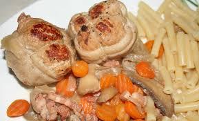 cuisiner les paupiettes de porc paupiettes de porc au cidre amafacon