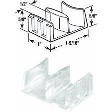 Shower Door Bottom Guide Prime Line Products 191680 Shower Door Bottom Guide