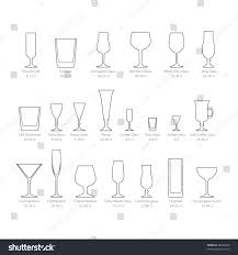 cocktail glass set glass set stock vector 86028478 shutterstock