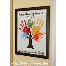 10 easy handprint crafts for grandparents