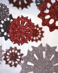 tinsel snowflake u0026 video martha stewart