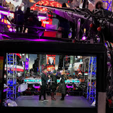 Power And Light New Years Eve Prodworks Lighting Chooses 4wall Ny For Times Square New Year U0027s