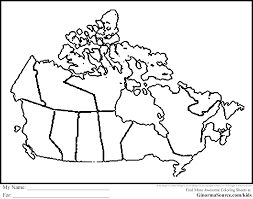 blank political map of canada us and canada printable blank maps royalty free clip bright