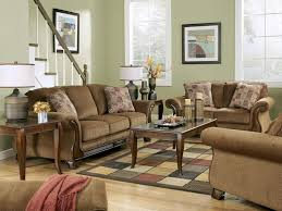 Sofa With Wood Trim by Celio Wood Trim Brown Microfiber Sofa Couch Loveseat Set Living