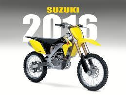 suzuki motorcycle 2015 suzuki announces 2016 off road bikes u2013 dirt bike magazine