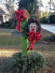 halloween mailbox covers our version of reindeer mailbox mom and i made this for the