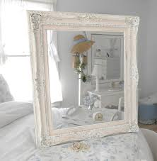 fantastic shabby chic bathroom mirror cabinets white for home