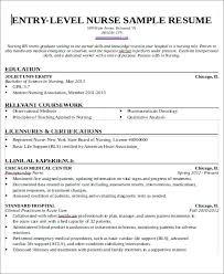 emergency nurse practitioner sample resume sample resume for new nurses entry level nurse resume sample
