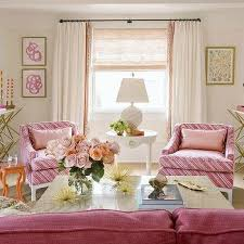 Pink Living Room Furniture Brass And Marble Coffee Table With White Cowhide Rug