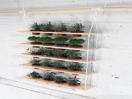 Diy Vertical Herb Garden Indoor Herb Garden Rack Best 25 Hanging Plants Ideas On