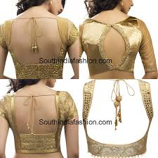 golden blouse gold blouse patterns for sarees south india fashion