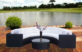 Rattan Curved Sofa Cheap Outdoor Sofa Curved Outdoor Sofa
