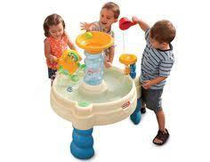step 2 rain showers water table step2 rain showers splash pond water table kids toys games