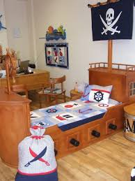 Pirate Room Decor Bedroom Decor Kids Full Bed Built In Beds For Kids Mattress