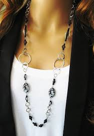 large silver bead necklace images 57 long bead necklace magazine small bead necklace long jpg