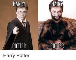 Hairy Men Meme - harry potter hairy potter harry potter funny meme on me me