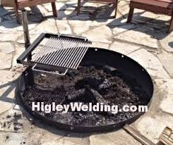 Fire Pit Liners by Swing Away Fire Pit Bb Grill Swing Away Grill Stainless Steel