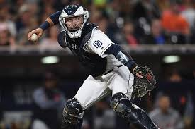 on the job what s it like being the starting catcher for san