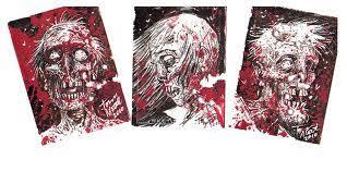 artist tony moore u201cthe walking dead u201d artwork sketches panels