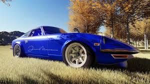 nissan fairlady 2017 nissan fairlady z s30 japanese cars car 3d render blue cars