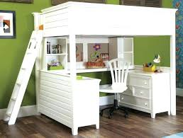 Bunk Bed With Desk And Drawers Desk Bed Combo Bed And Desk Combo Image Of Low Loft Bed With Desk