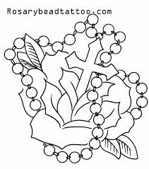 rose tattoo stencil with vines drawing rose vine black ribbon