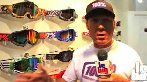 100 motocross goggle racecraft bootcamp collection 2012 des masques 100 youtube