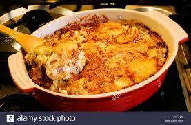 savoyard cuisine la tartiflette savoyard cuisine uk europe stock