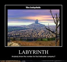 Labyrinth Meme - very demotivational labyrinth very demotivational posters