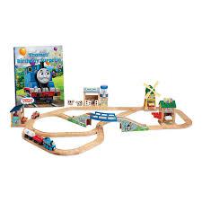 fisher price train table thomas friends wooden railway thomas birthday surprise set ccx57