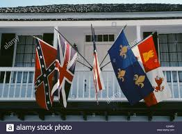 Flag Displays A Home Displays The Five Flags Confederate British American