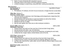 Prep Cook Sample Resume by Resume Objective Lines Reentrycorps