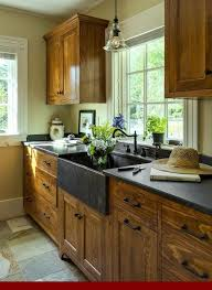 farmhouse style kitchen with oak cabinets the best oak cabinet stain colors oakkitchencabinets