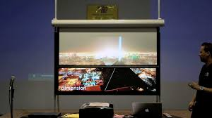 Media Room Tv Vs Projector - black diamond projector screens screen innovations