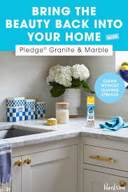 how to clean kitchen cabinets without leaving streaks bring the back into your home with pledge granite