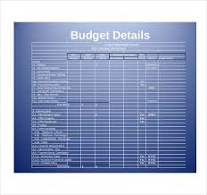 church budget template u2013 10 free word excel pdf documents