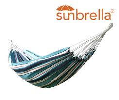 brazilian sunbrella hammock double vivere