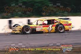 the factory stock race car of bob haberstick jr raced at wall
